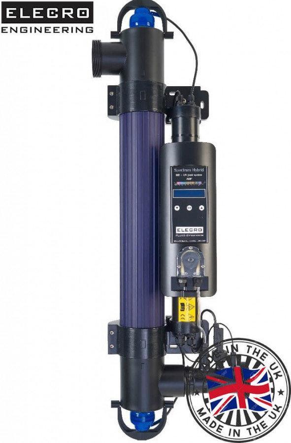 Ультрафиолетовая установка Elecro Spectrum Hybrid 55 Вт, гидроксид-радикал окислители, титановая реакционная к