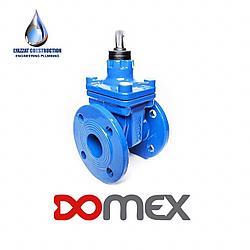 Задвижка DOMEX фланцевая F4 (короткая) DN 100