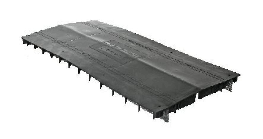 Коньковый аэратор Технониколь, 0,61 м, черный