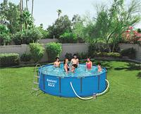 Каркасный бассейн  Bestway 56418 Steel Pro MAX 366 x 100 см, фото 1
