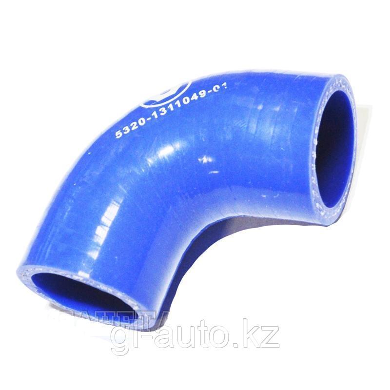 Патрубок расширительного бачка силиконовый с силовым каркасом (Синий) 5320-1311049-01 синий