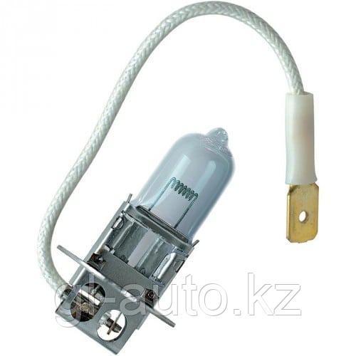 Лампа Н3 24V противотуманной фары галогеновая (с проводком)