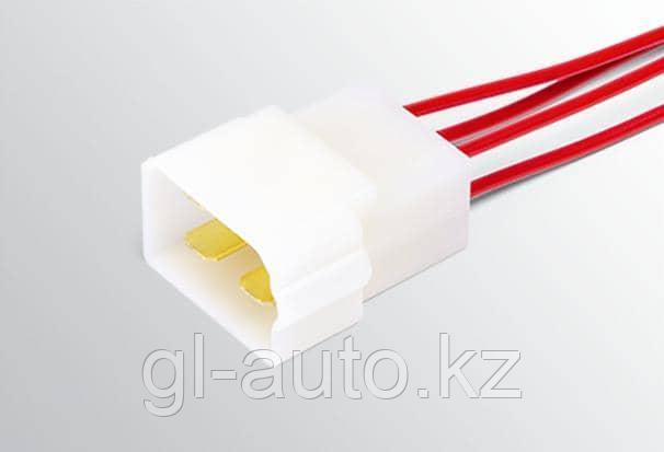 Колодка 4-ми контактная межжгутовая штыревая