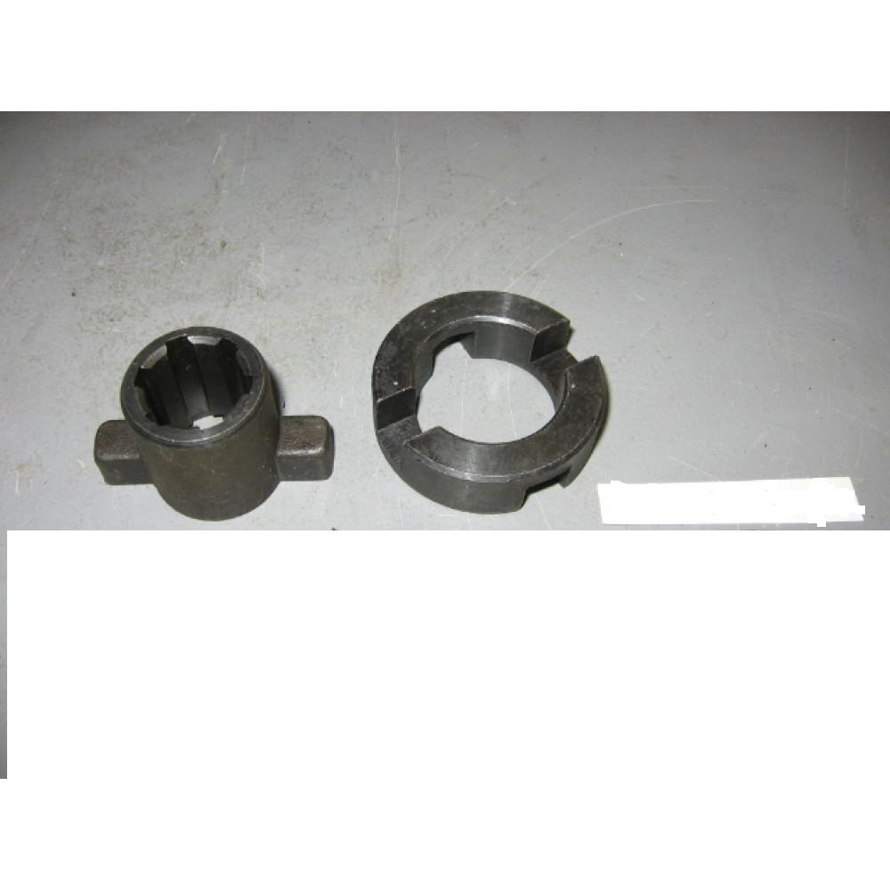 Полумуфта КОМ с гидрокомпенсатором