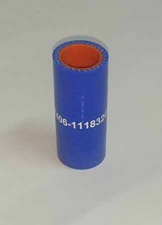 Патрубок турбокомпрессора (рукав 22*29) силикон