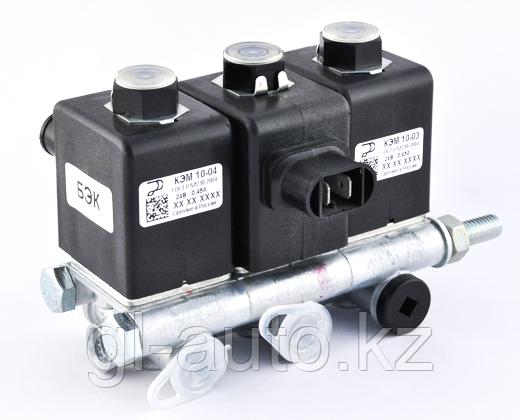 Блок электромагнитный клапанов БЭК 31.000 КЭМ-10