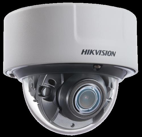 DS-2CD7146G0-IZS - 4MP Уличная высокочувствительная купольная варифокальная антивандальная IP-камера с