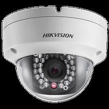 DS-2CD2142FWD-IWS - 4MP Уличная купольная антивандальная IP-камера с ИК-подсветкой, встроенным Wi-Fi-модулем и