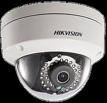 DS-2CD2143G0-IS - 4MP Уличная купольная антивандальная IP-камера с ИК-подсветкой и поддержкой Аудио/Тревоги.