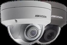 DS-2CD2185FWD-IS - 8MP Уличная купольная антивандальная IP-камера с ИК-подсветкой и поддержкой Аудио/Тревоги.