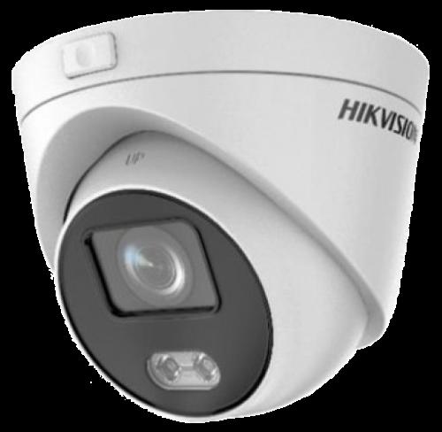 DS-2CD2347G3E-L - 4MP Уличная купольная IP-камера с технологией ColorVu* (круглосуточным цветовым видеонаблюдением).