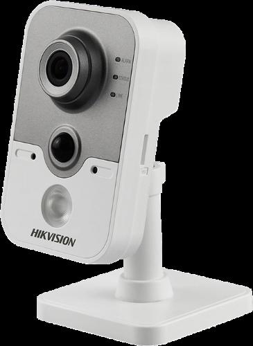 DS-2CD2455FWD-IW - 5MP Внутренняя кубическая WiFi камера с ИК-подсветкой и пассивным датчиком обнаружения