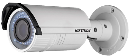 DS-2CD2642FWD-IZS - 4MP Уличная варифокальная (моторизованный) цилиндрическая IP-камера с ИК-подсветкой и поддержкой Аудио/Тревоги, на кронштейне.