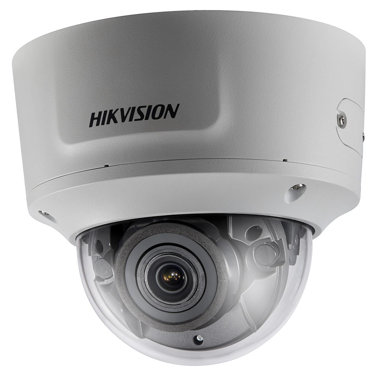 DS-2CD2743G0-IZS - 4MP Уличная варифокальная (моторизованный) антивандальная купольная IP-камера с ИК-подсветкой и поддержкой Аудио/Тревоги.