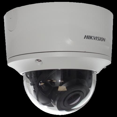 DS-2CD2755FWD-IZS - 5MP Уличная антивандальная варифокальная (моторизованный) купольная IP-камера с