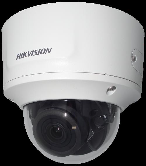 DS-2CD2785FWD-IZS - 8MP Уличная варифокальная (моторизованный) купольная IP-камера с ИК-подсветкой и поддержкой Аудио/Тревоги.