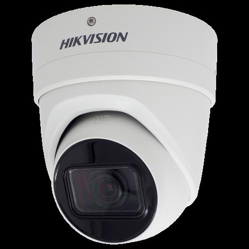 DS-2CD2H55FWD-IZS - 5MP Уличная купольная варифокальная антивандальная IP-камера с ИК-подсветкой и и поддержкой Аудио/Тревоги.