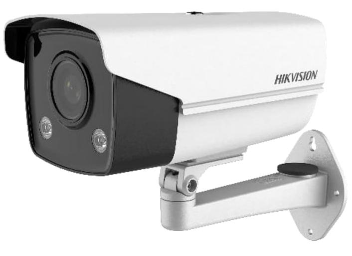 DS-2CD2T47G3E-L - 4MP Уличная цилиндрическая высокочувствительная IP-камера с технологией ColorVu* (круглосуточным цветовым видеонаблюдением).