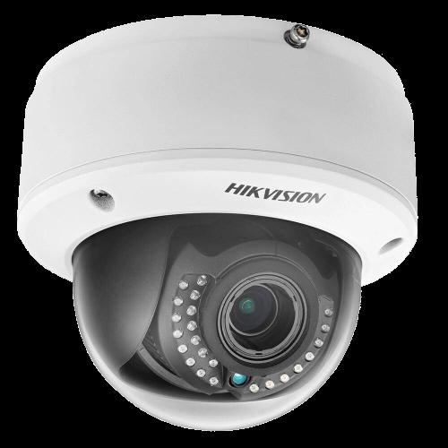 DS-2CD4124F-IZ - 2MP Уличная варифокальная (моторизованный) антивандальная купольная IP-камера с ИК-подсветкой