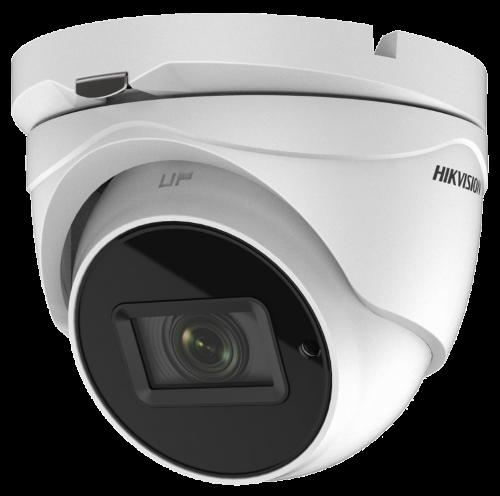 DS-2CE78D3T-IT3F - 2MP Уличная высокочувствительная купольная HD-TVI камера с EXIR* ИК-подсветкой.