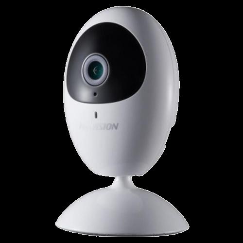 DS-2CV2U21FD-IW - 2MP внутренняя кубическая сетевая Wi-Fi-камера с фиксированным объективом и ИК-подсветкой.