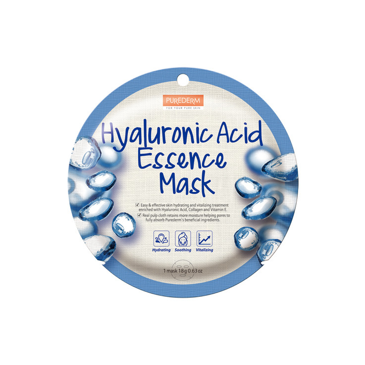 Маска тканевая Purederm Hyaluronic Acid Essence Mask