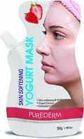 Маска для лица Purederm Strawberry Skin Softening Yogurt Mask 50g.