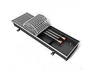 Конвектор внутрипольный с естественной конвекцией-Techno Usual KVZ-250-85-1500