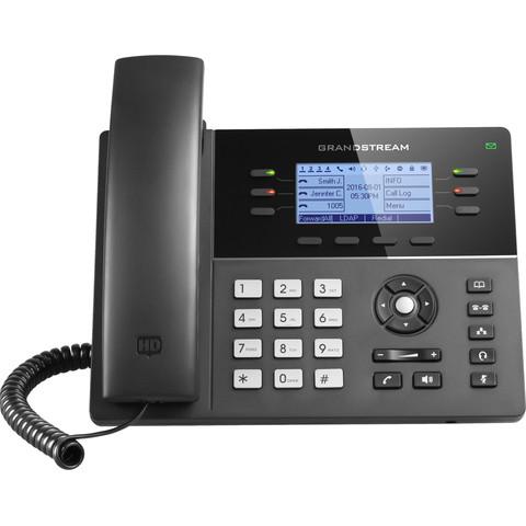 Grandstream GXP1760w - IP телефон. 3 SIP аккаунта, 6 линий, PoE, Wi-Fi