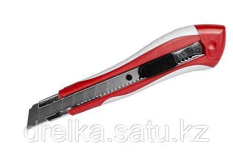"""Нож ЗУБР """"ЭКСПЕРТ"""" с сегментированным лезвием, 18мм , фото 2"""