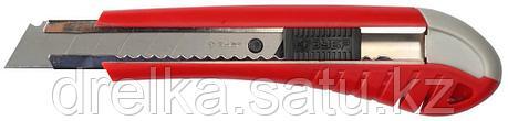 """Нож ЗУБР """"МАСТЕР"""" с выдвижным сегментированным лезвием, сталь У8А, 18мм, фото 2"""