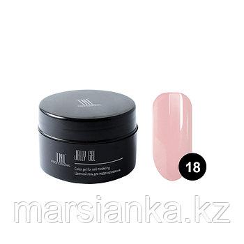 Гель-желе TNL #18 Камуфлирующий карамельно розовый, 18мл