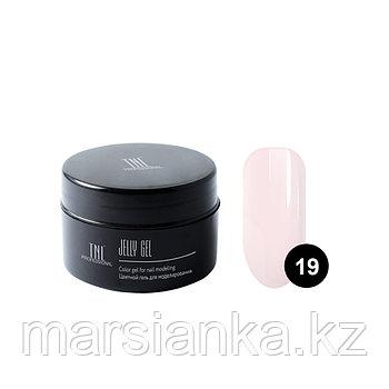 Гель-желе TNL #19 Камуфлирующий светло розовый, 18мл