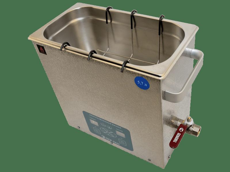 Ультразвуковая ванна ПСБ-5760-05. Объём - 5,7 л.
