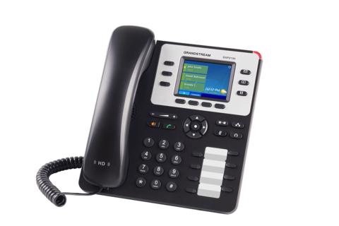 Grandstream GXP2130v2 - IP телефон. 3 SIP аккаунта, 3 линии, цветной LCD, PoE
