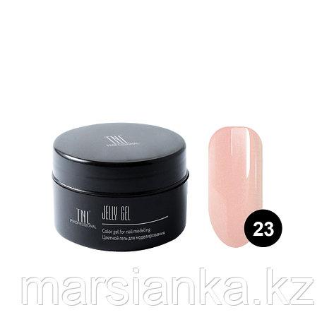 Гель-желе TNL #23 Камуфлирующий натурально розовый, 18мл, фото 2