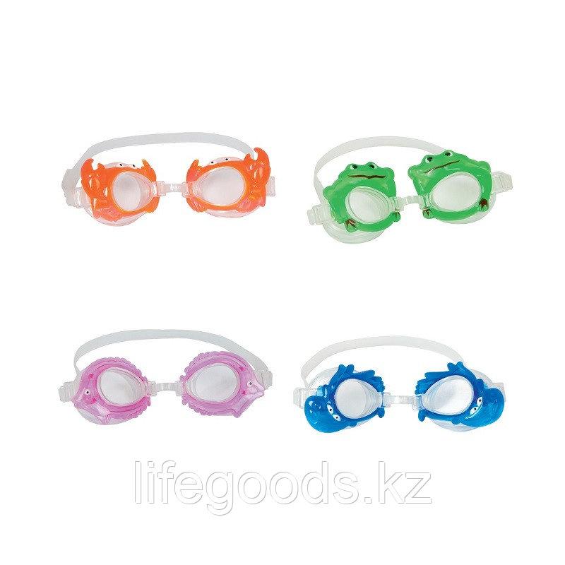 Очки для плавания LIL' SEA CREATURE 3+, BESTWAY 21047