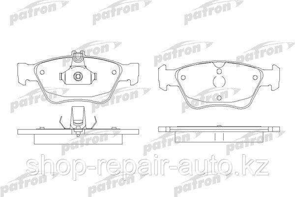 Тормозные колодки передние W210 до V - 2,4