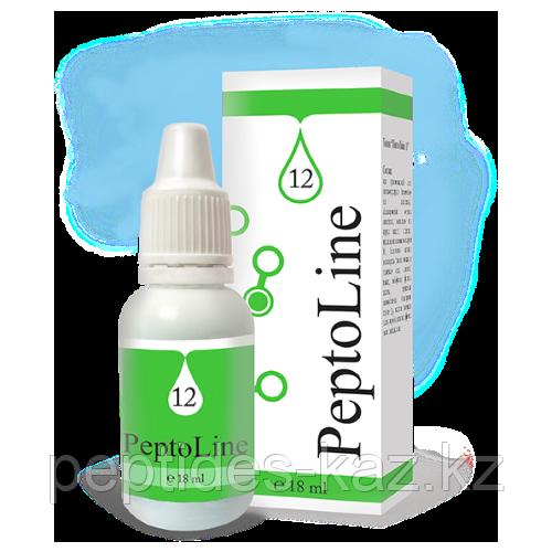 PeptoLine 12 для мужской моче-половой системы, пептидный комплекс 18 мл