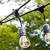 """Гирлянда """"Белт лайт Ретро лампочки"""" с подвесными патронами - шаг 35 см, патрон Е27, водостойкий"""