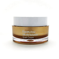 Farm Stay Dr.V8 Solution Snail Cream -Восстанавливающий крем с муцином улитки( 50 мл)