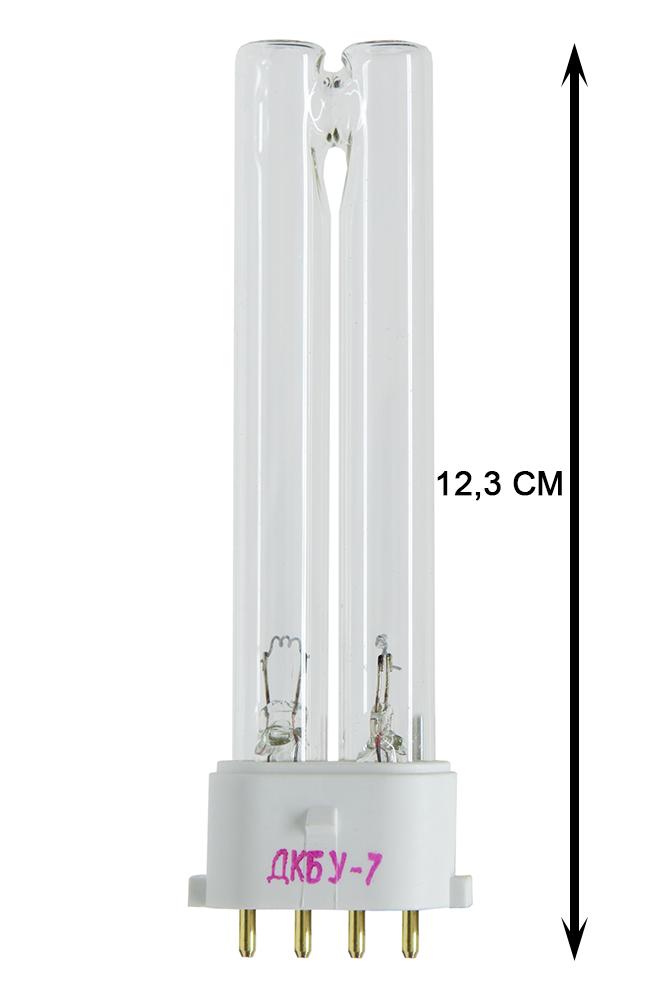 Лампа бактерицидная кварцевая ДКБУ-7