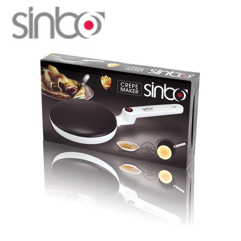 Погружная электрическая блинница c антипригарным покрытием Sinbo Crepe Maker SP-5208 - фото 3