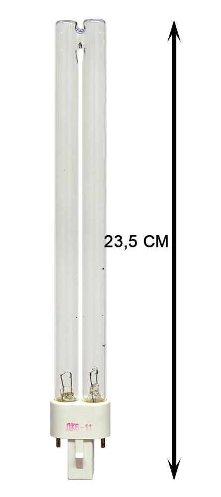 Лампа бактерицидная кварцевая ДКБ-11