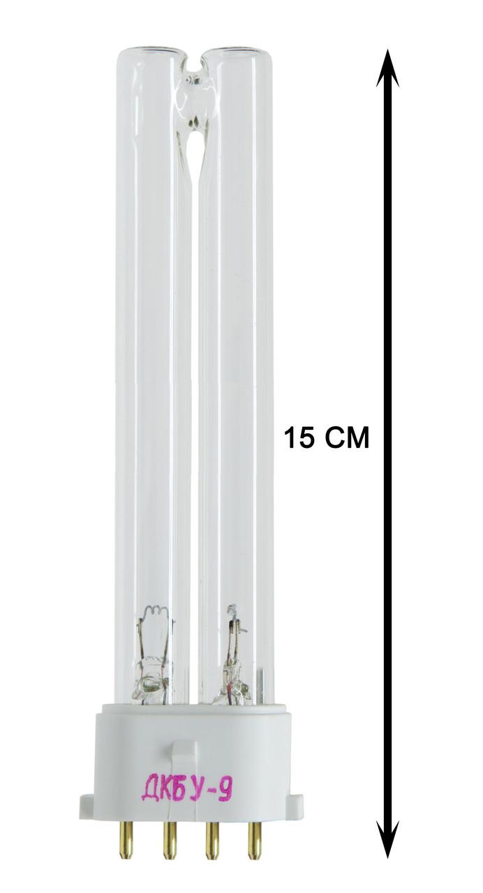Лампа бактерицидная кварцевая ДКБУ-9