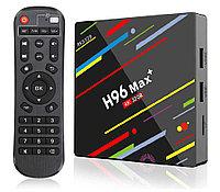 Андроид ТВ приставка H96 Max plus 4/32 Gb Rockchip RK3328