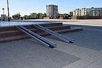 Пандус телескопический 3-х секционный 3-144-360 (360 см)