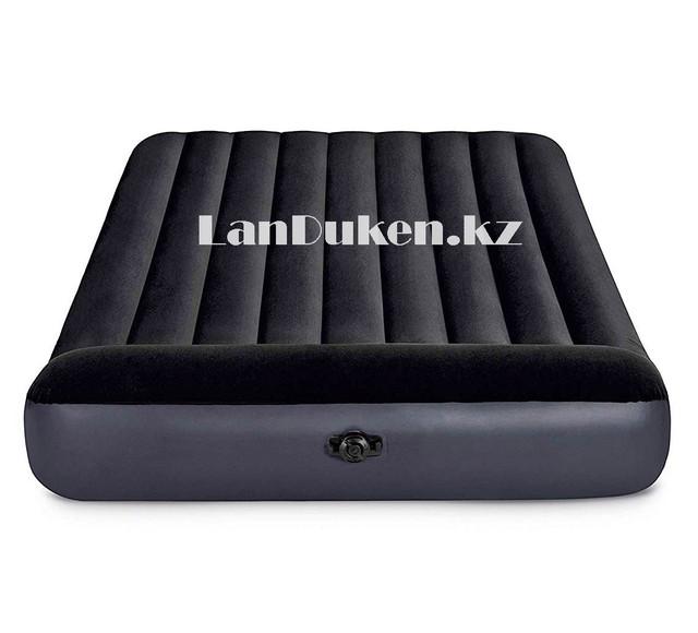 Двуспальный надувной матрас с подголовником Intex