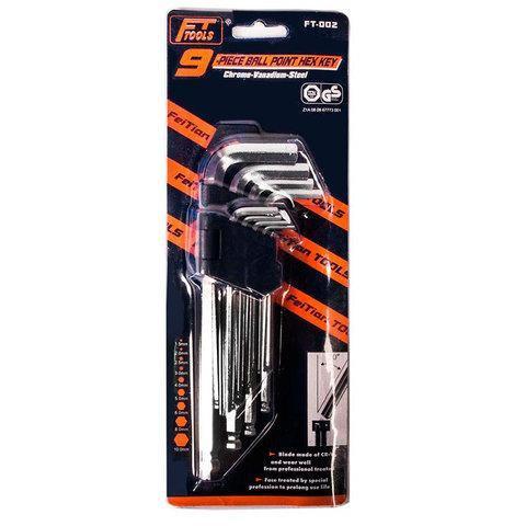 Набор длинных шестигранных ключей FT-001