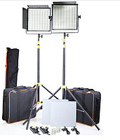 Светодиодная (LED) панель для фото / видео Camtree 1000 Bi-Color (2 осветителя)
